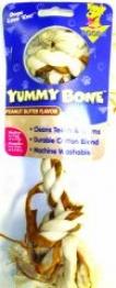 Booda Yummy Bone - Peanut Butter - Medium
