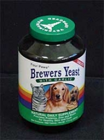Brewers Yeast With Garlic Dog Supplement