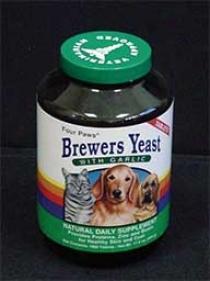 Brewers Yeast With Garlic Dog Supplement
