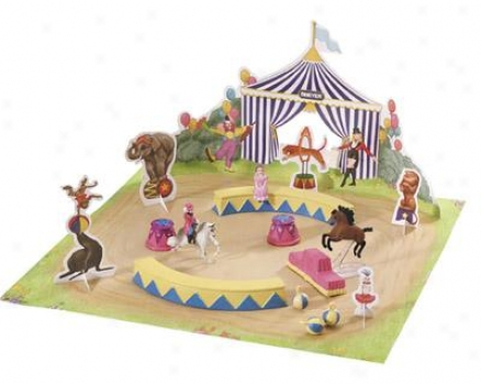 Breyer - Mini Whinnies Circus City Backpack Play