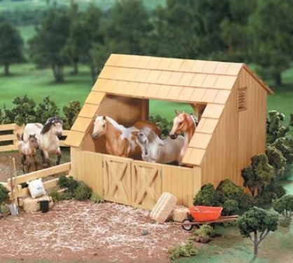 Breyer - Run-in Barn
