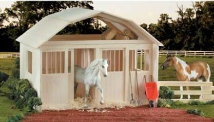 Breyer - Two-stall Wood Barn