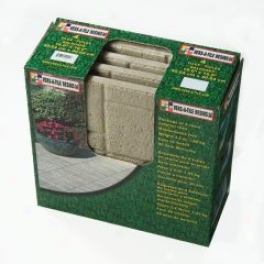 Brick Garden Tile - Gray