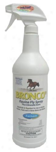 Bronco E Equine Fly Spray - 32 Oz