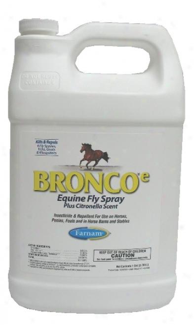 Bronco E Equine Fly Spray - Citronella - 128oz