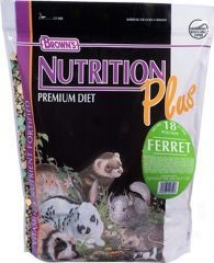 Brown's Nutrition Plus Ferret Food - 18lbs