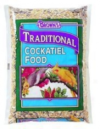 Brown's Traditional Cockatiel Food - 50lbs
