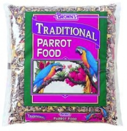 Browns Traditional Parrot Food