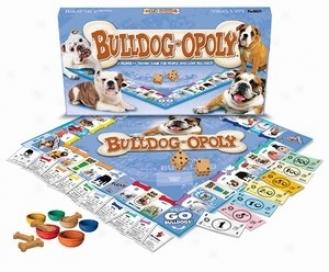 Bulldog-opoly: A Boaard Game Of Tail-wagging Fun!
