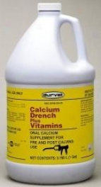 Calcium Drench Plush Vitamins For Cows - Gallon