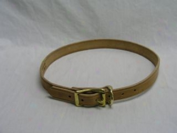 Calf Collar - Tan - 1 X 30 Inch