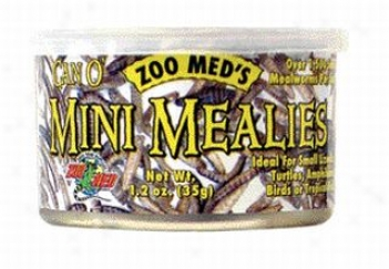 Can O' Mini Mealies Food For Lizards/snakes/amphibians/water Turtles