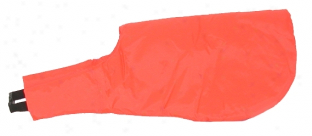 Canine Camo Hunting Vest - Neon Orange - Large