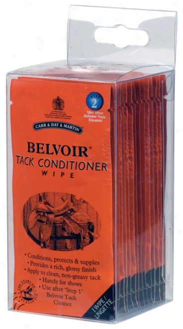 Carr & Day & Martin Horse Belvoir Tack Conditioner Wipes - 15 Count