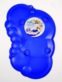 Catit Drinking Spill Mat For Cat Watering Fountainn - Blue