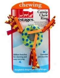 Catnip Chsw Ring Toy For Cats - Multicolor