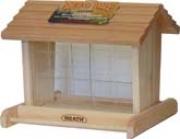Cedar Hopper Bird Feeder - Brown