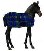 Centaur Foal Turnout Blanket - Blackwatch Plaid - 28-42 Foal To Colt