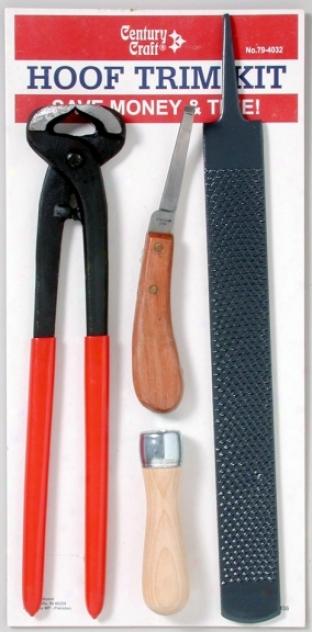 Century Craft Hoof Trim Kit - 4pc