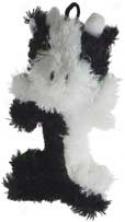 Chenille Buddy Bones Dog Toy - 7 Icnh