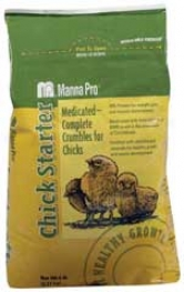 Chick Starter Crum Medicated Feed - 5 Pound