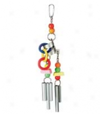 Chime Time Cyclone Bird Toy - Assorted