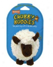 Chubby Buddies Lamb Plush Dog Toy - Small
