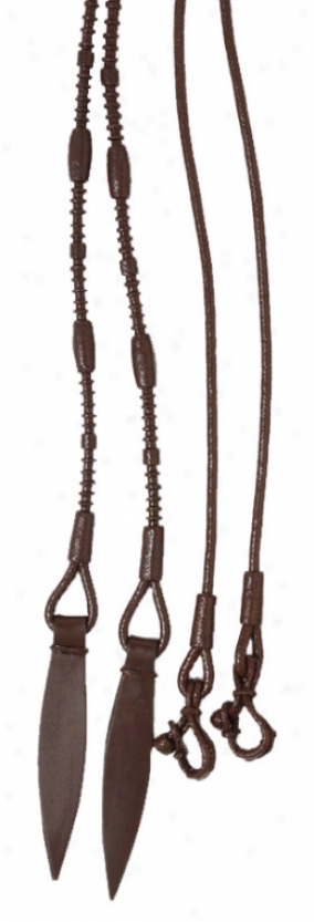 Classic Braided Split Reins