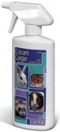Clean Cage Cage Cleaner For Small Animals - 32 Oz