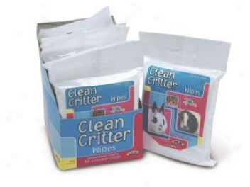 Clean Critter Cleansing Wipes For Small Animals