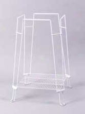 Clean Life Cage Stand For Birds - White