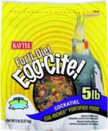 Cockatiel Bird Feed Fortidiet Eggcite