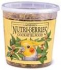 Cockatiel Bird Feed Nutri-berrjes - 12.5 Ounces
