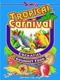 Cockatiel Bird Feed Tropical Carnival Food - 2 Pounds
