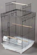 Cockatiel Cage Playtop - Black - Large