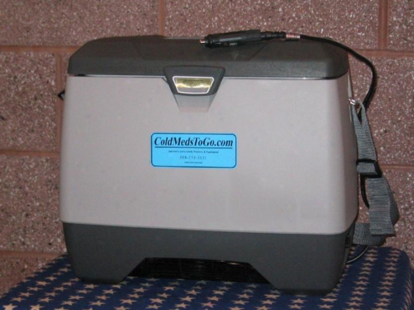 C0ldmedstogo Movable Refrigerator Or Freezer Ac/dc - 14 Qt Capacity