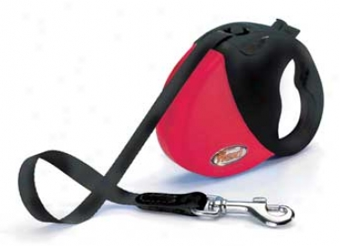 Comfort 1-3 Three  For Dogs - Red/black - 10ft
