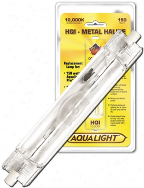 Coralife 10000k Double-ended Hqi Metal Halide Aquarium Lamp