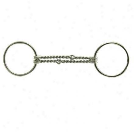 Coronet Double Twist Wire Loose Ring Bit