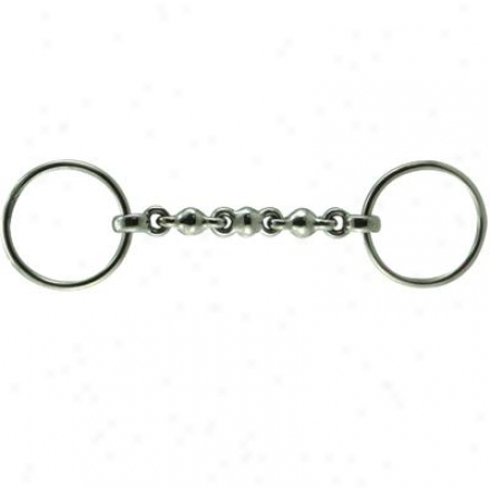 Coronet Waterford Loose Ring Snaffle Bit - 5 1/2