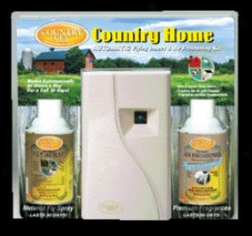 Country Homeinsect/air Freshener Kit - White