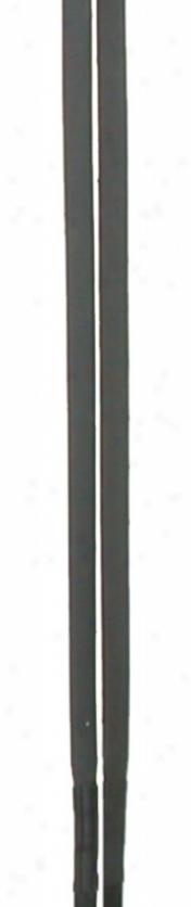 Courbette Eventa Rubber Grip Reins - Black - 3/4