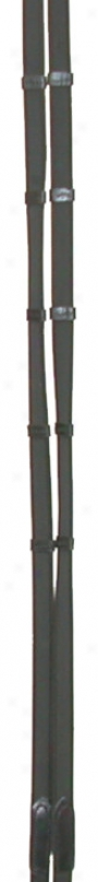 Courbette Suregrip Web Reins - Black -  3/4 Wide Approx 54 Long