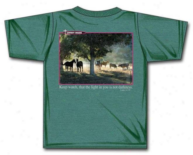 Cowboy Brand Keep Watch T-shirt