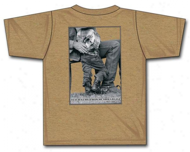 Cowboy Brand Teach A Child T-shirt