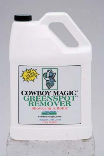 Cowboy Green Spot Remover Shower In A Bottle - Gallon