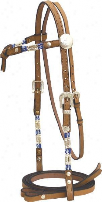 Cowboy Pro Bridle With  Bone Drop