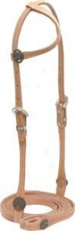 Cowboy Pro Omit Ear Bridle - Harnese - Horse