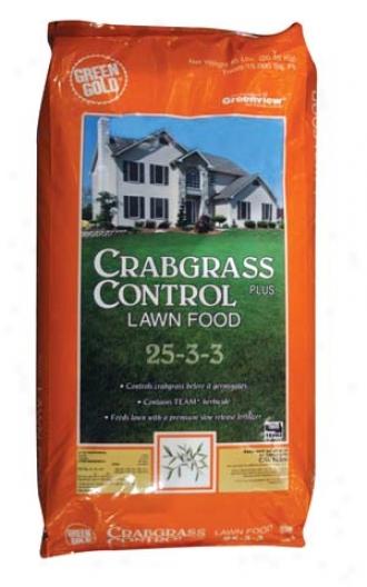 Crab Control Lawn Food 25-3-3