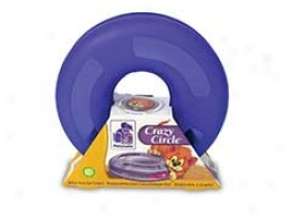 Crazy Kitty Circle Toy - Purple